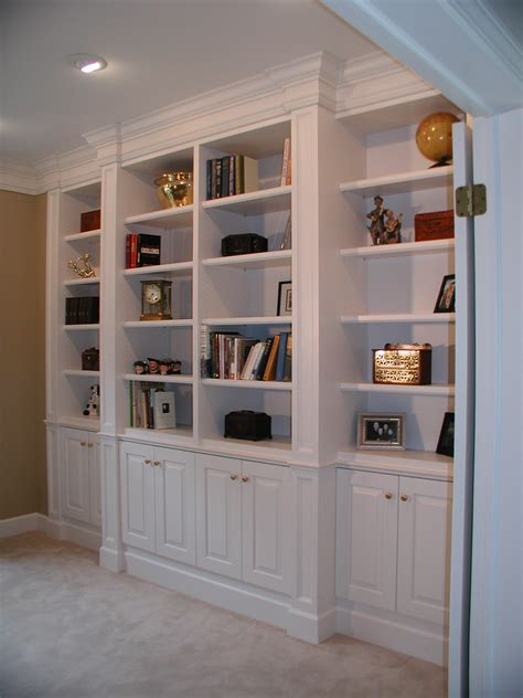 Melamine Bookcase, Custom Built Bookcase Designs Bookshelf