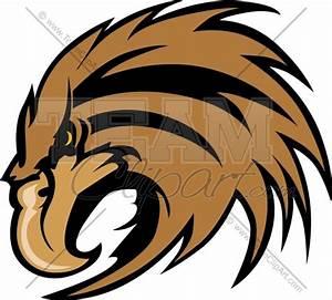 Hawk Mascot Clipart Clipart Cartoon Image.