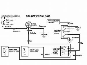 54 Chevy Truck Fuel Gauge Wiring Diagram