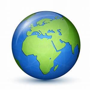 Globe Terrestre Carton : mappa del globo del mondo l 39 africa europa illustrazione vettoriale illustrazione di terra ~ Teatrodelosmanantiales.com Idées de Décoration