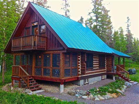 The Glacier Cabin Montana Shed Wonderful Cabin Near Glacier National Park Vrbo