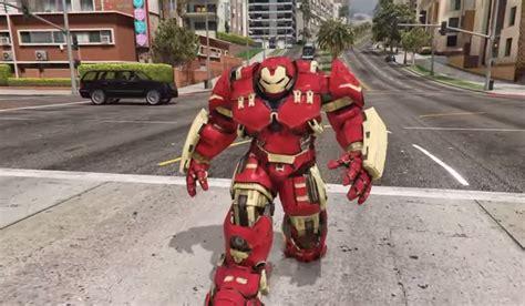 gta  iron mans hulkbuster armour mod  unstoppable vg