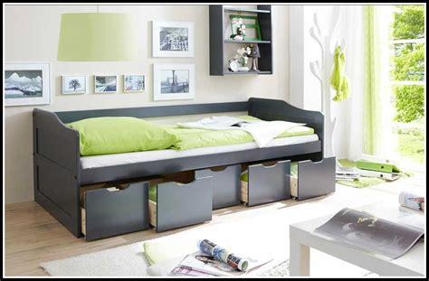 Ikea Bett Mit Schubladen Schwarz  Betten  House Und