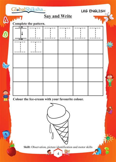 buy worksheets for lkg in india