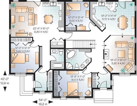 plan dr house plan   law suite   family house plans house plans duplex