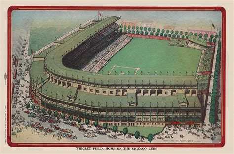 day  wrigley field history october   bleed