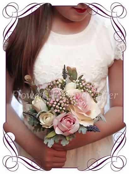 Samantha Flower Posy Bouquets Artificial Silk Flowers