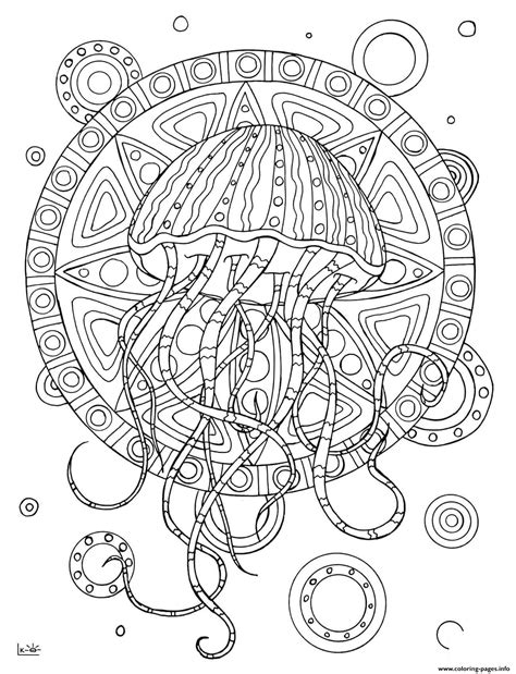 coloring pages jellyfish coloring page  vocal