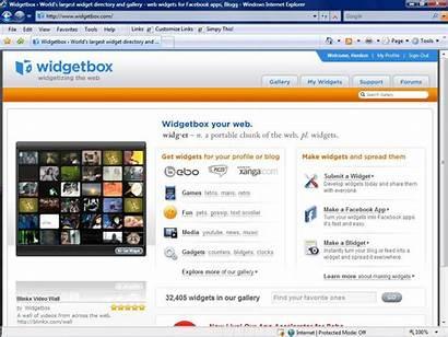 Widgets Widgetbox Started Widget