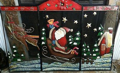 santa fireplace screen 72 best great finds images on cord abdominal