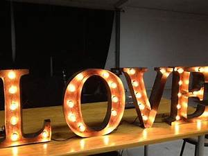 marquee letter broadway style love 18 inches tall With 18 inch marquee letters
