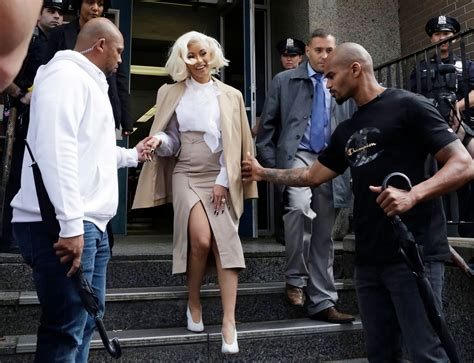 cardi b turns herself in to jail cardi b turns herself in to police arrested and charged