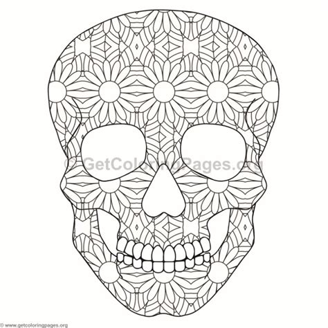 skull coloring pages  getcoloringpagesorg