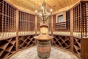 Dream Home Wine Room - Transitional - Wine Cellar