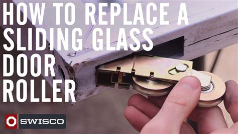 how to replace a patio sliding glass door roller 1080p