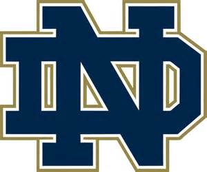 Notre Dame Football Pumpkin Carving Stencil by Notre Dame Decals For Boards 1 Set