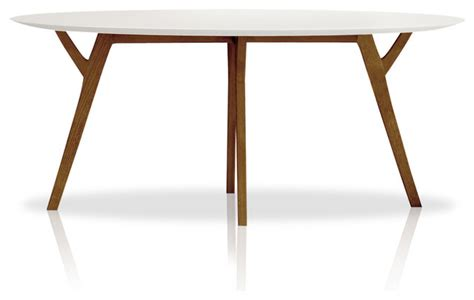 Eco Natura Anja Round Dining Table   Modern   Dining Tables   by Inmod