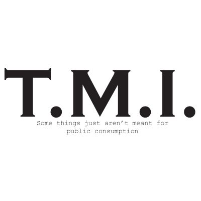 Thoughts About Tmi Tuesday  Stealing Faith