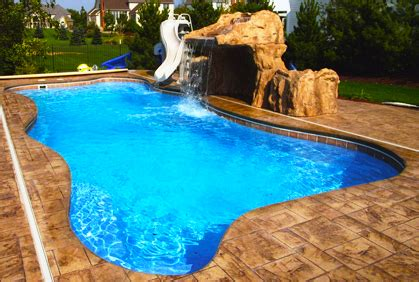 top fiberglass pool designs ideas