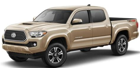 color options     toyota tacoma