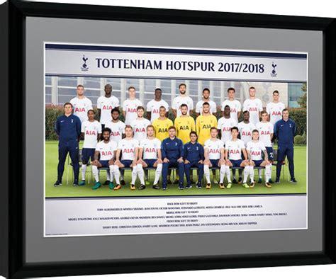 Tottenham Hotspur - Team Photo 17/18 Poster encadré ...
