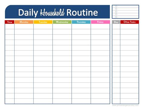 plan daily schedule family routine on pinterest daily schedules kids