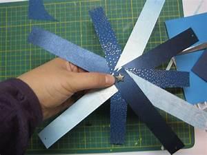 Boule En Papier : boule de noel en bande de papier ~ Teatrodelosmanantiales.com Idées de Décoration