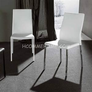 chaise pu blanc noir nelly zd1 c d ec 085jpg With salle À manger contemporaineavec chaises design de salle À manger