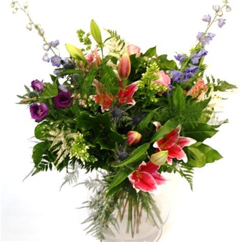 country garden flower bouquet designed by award winning