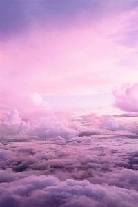 sky pink purple clouds Pink Clouds pink sky purple sky ...