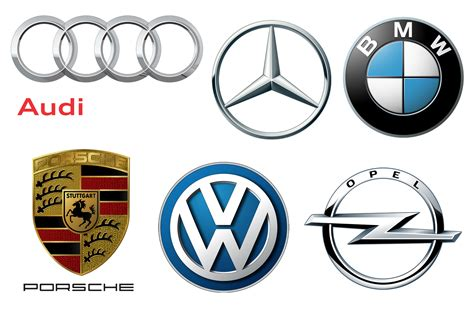 German Car Brands, Companies And Manufacturers