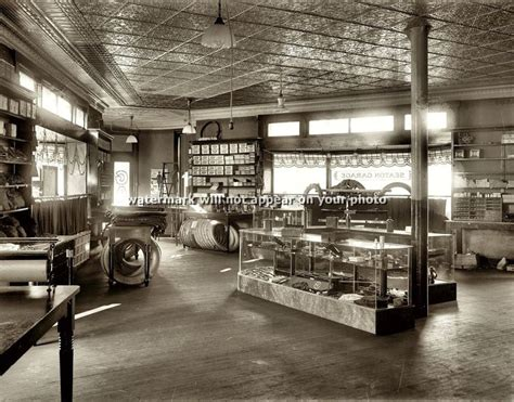 1920 Vintage Auto Parts Car Tire Shop 8x10 Photo Seaton