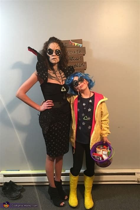 Coraline and The Other Mother Costume | DIY Costumes Under $35