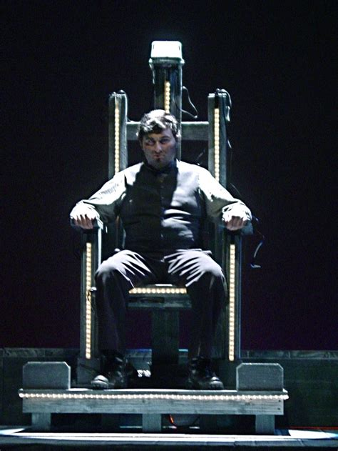 Electric Chair Executions On by Theater Seats Clip