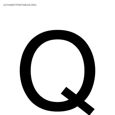 with letter q letter q black and white letters exle Words