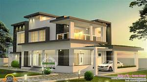 Modern, Beautiful, Mansion, House, With, Balcony, U2013, Modern, House