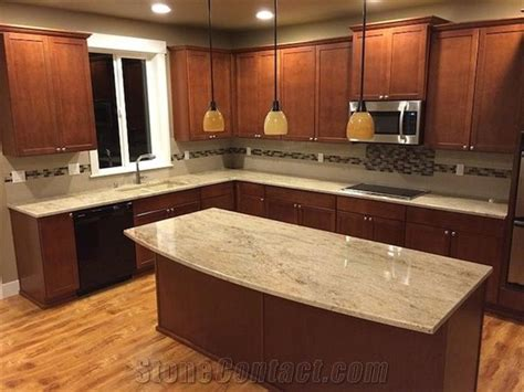 Astoria Pink Island Kitchen Countertops From India