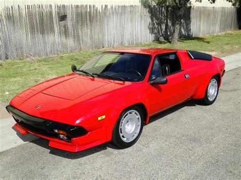1983 Lamborghini Jalpa Targa Coupe