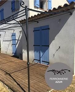 Pergola Fer Forge Provencale : pergola proven ale en fer forg nice alpes maritimes 06 ~ Melissatoandfro.com Idées de Décoration