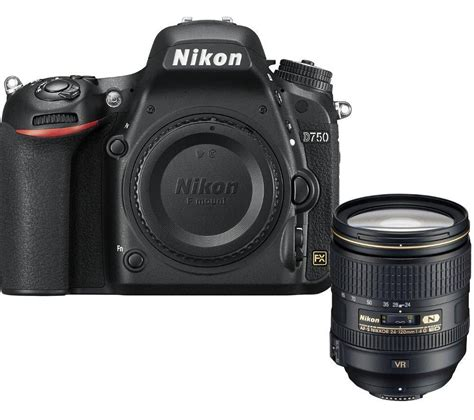 buy nikon digital buy nikon d750 dslr with 24 120 mm f 4 lens black