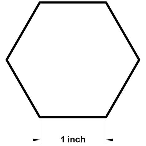 hexagon template hexagon paper templates for patchwork freezer paper hexagons