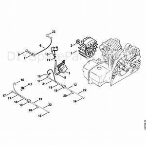 Stihl 023 Chainsaw  023  Parts Diagram  Ignition