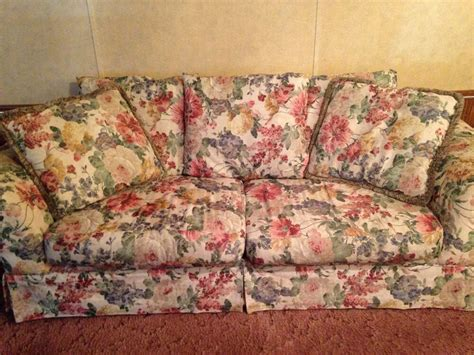 Floral And Loveseat by Floral Design Sofa Set Ebay
