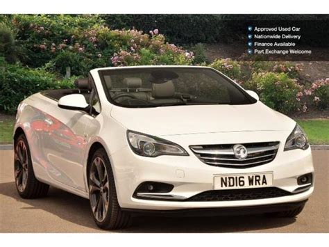 vauxhall convertible vauxhall cascada 2016 16 949 in tyne and wear united