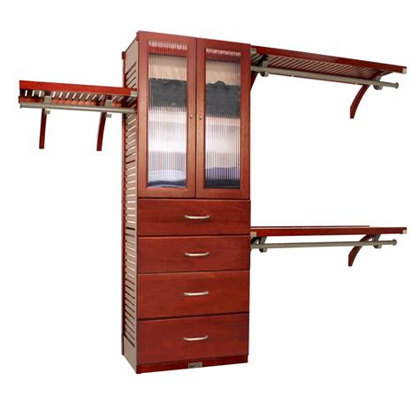 Louis Home 16 In Deluxe Closet System With
