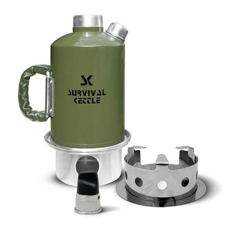 kettle camping camp stove survival