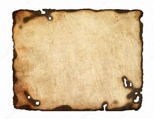 Old paper with burnt edges — Stock Vector © DIDDLE #22841744