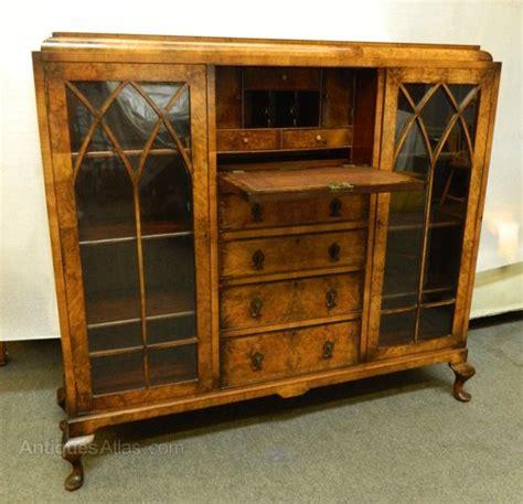 bureau cabine deco walnut bureau cabinet antiques atlas