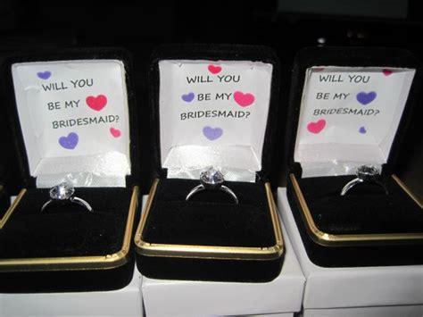 Creative DIY bridesmaids invites Weddingbee Photo Gallery