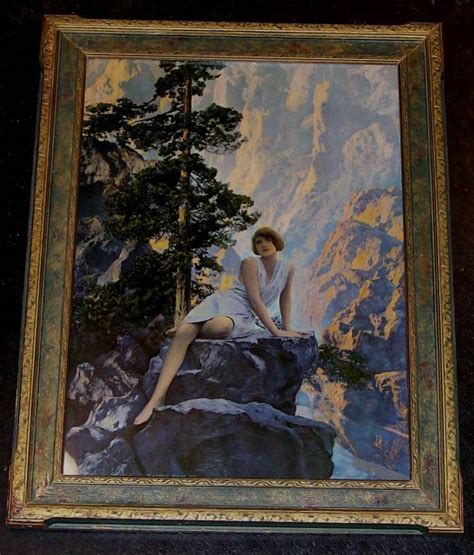 maxfield parrish print solitude for sale antiques com